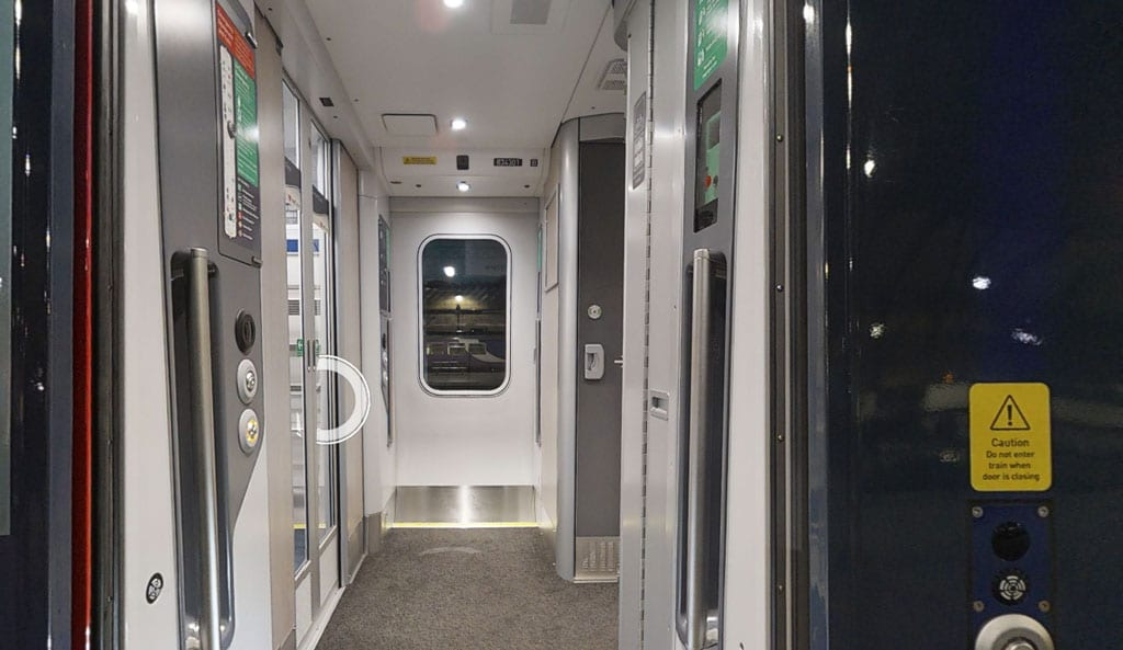 Hull Trains release virtual walkthrough tour of new Paragon Trains