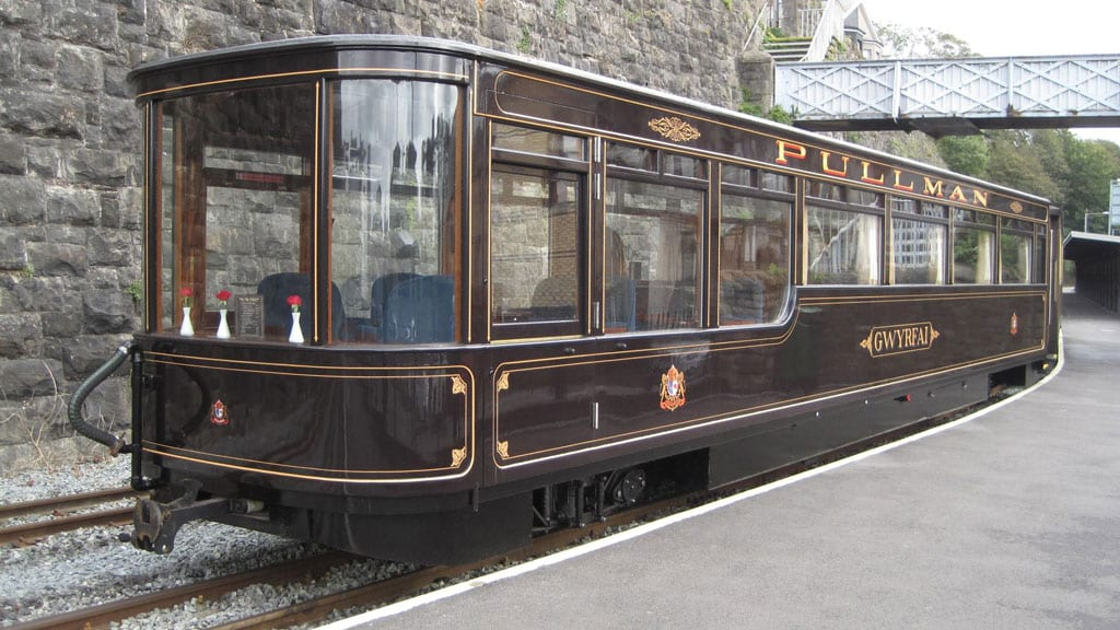New Pullman observation carriage - called Gwyrfai