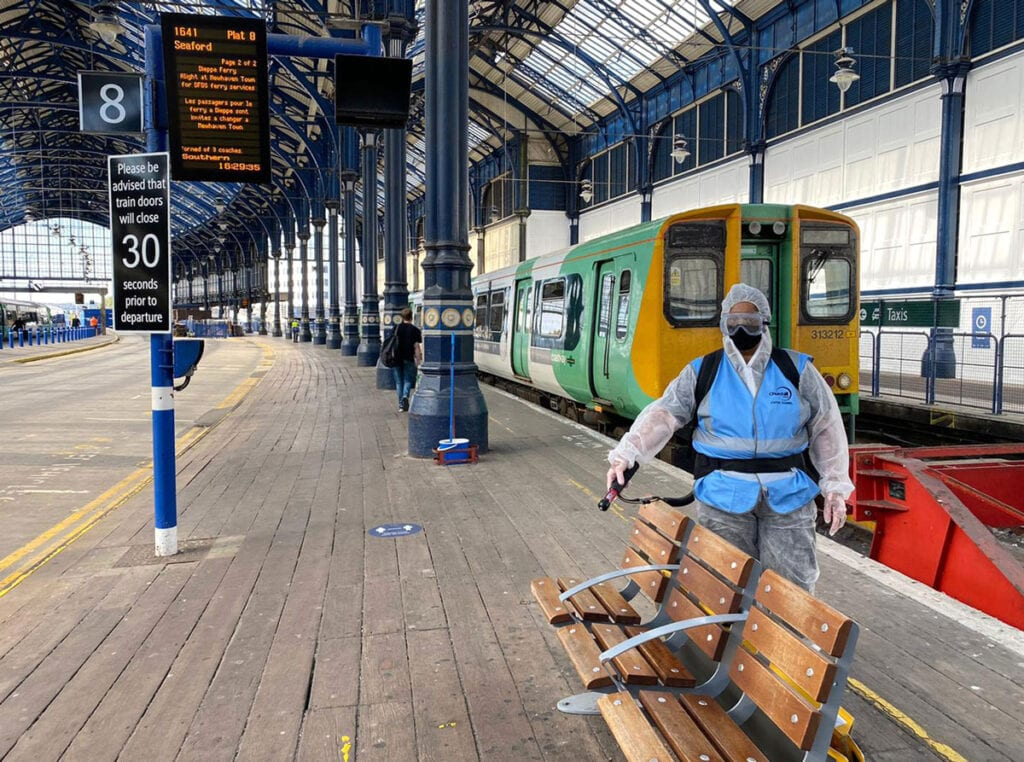 Govia Thameslink Railway continues 30-day coronavirus killer in stations