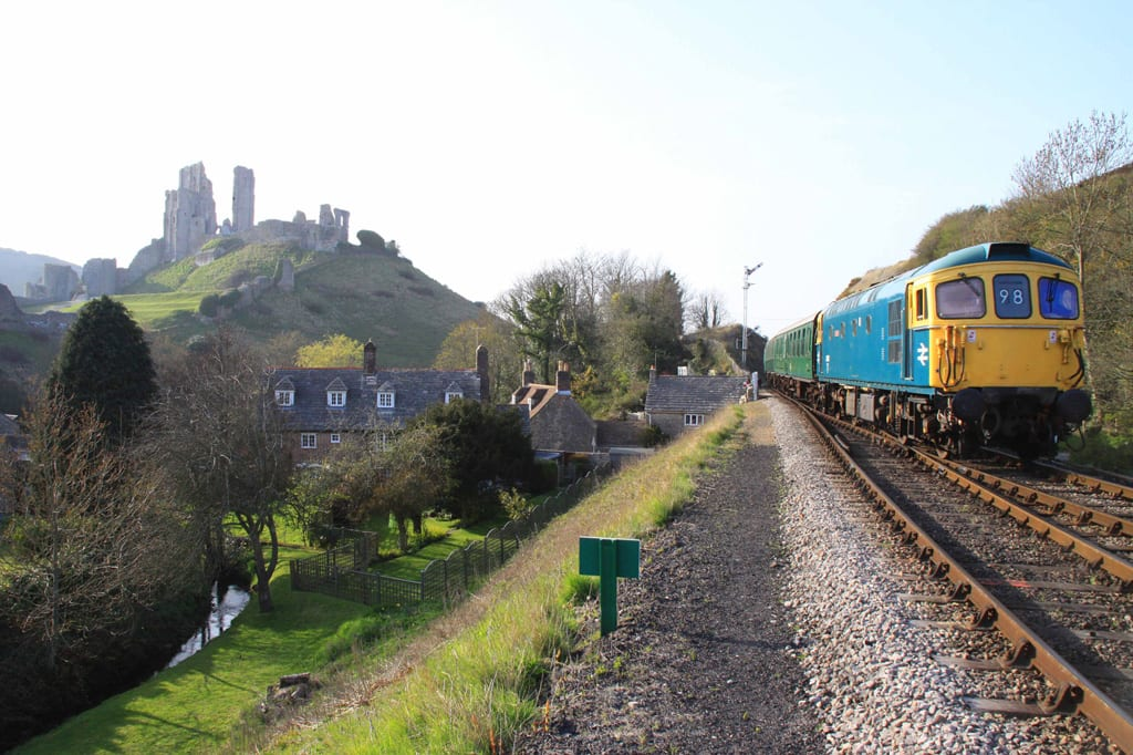 Swanage Railway reopening