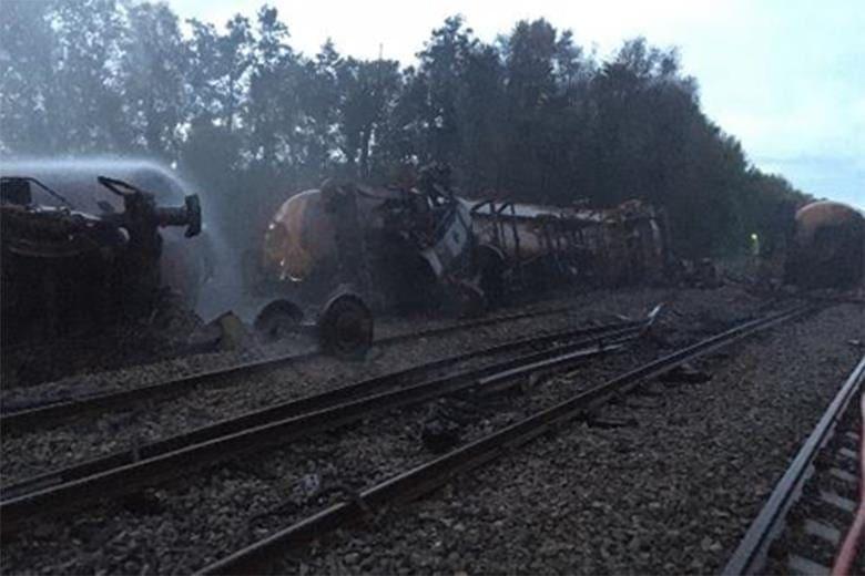 RAIB investigating freight train derailment in Wales