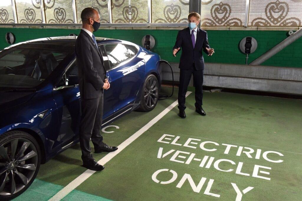 EV charging hub