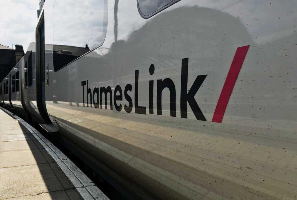 Go-Ahead Group's Thameslink train