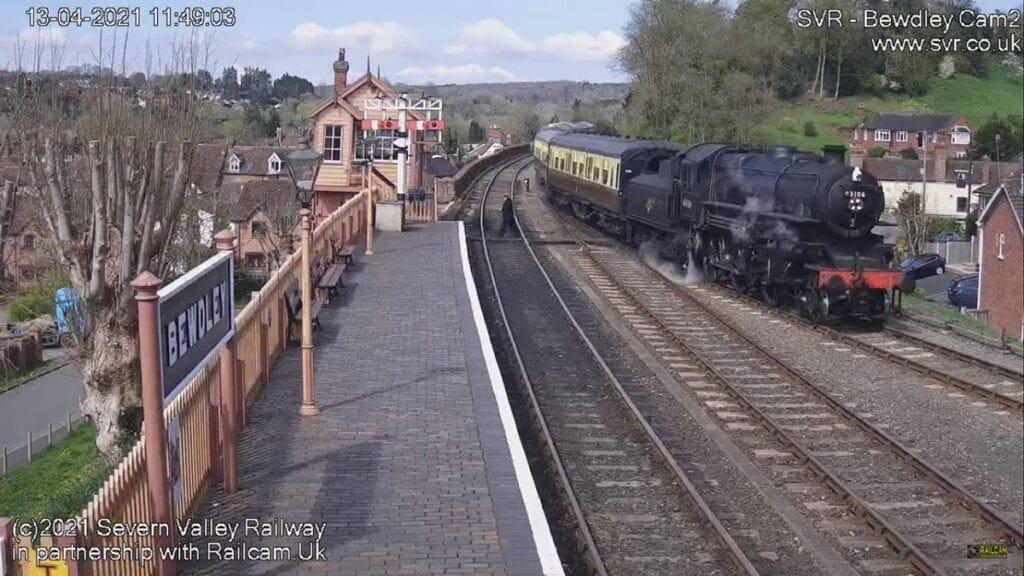 Severn Valley Railway footage