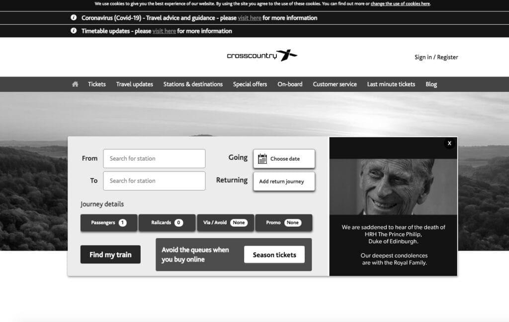 Prince Philip website